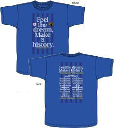 オリンピック出場メンバーTシャツ